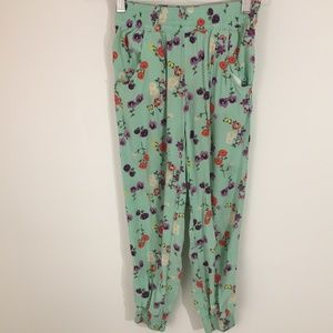 Crazy 8 Girls Floral Joggers